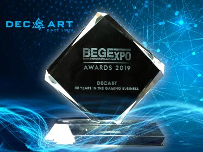 DECART HONORED DURING BEGE Expo 2019